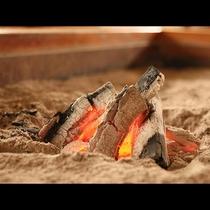 囲炉裏◆炭焼きすることもございます!