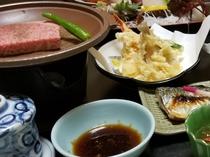 基本プラン 夕食 黒毛和牛ステーキ
