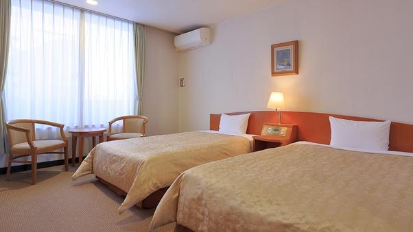 ◆【ツイン・喫煙】ベッド幅140cm&120cm /26平米