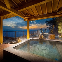 【ふらり】客室専用露天風呂の一例