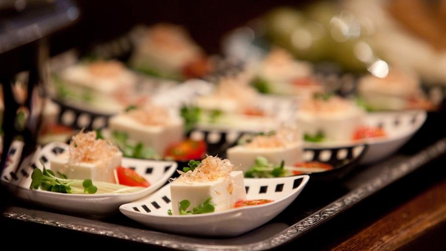 朝食イメージ【和食:お豆腐