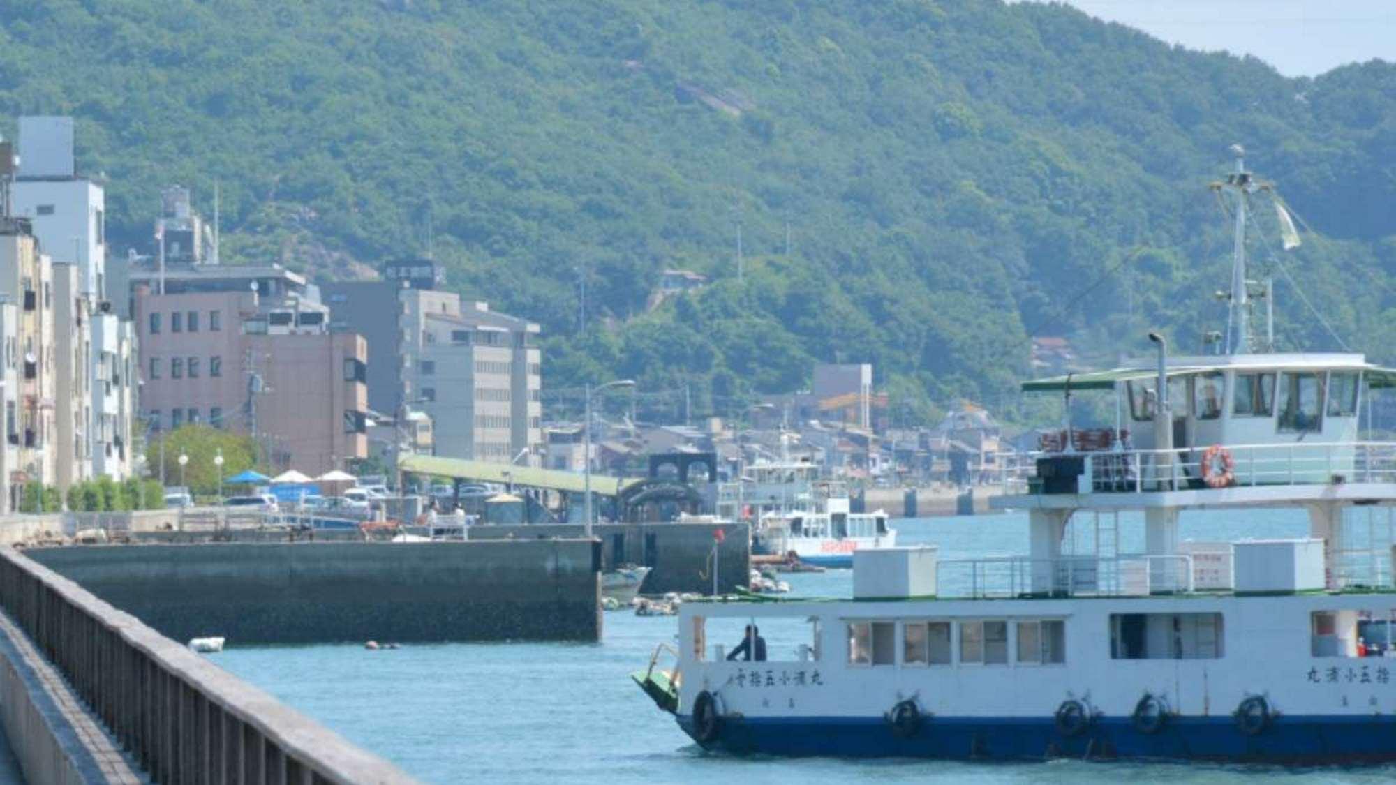 福山、鞆の浦、尾道の間に位置するホテル※尾道イメージ