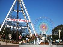 【みろくの里】お子様が喜ぶ遊園地がございます。もちろん大人も楽しめますよ♪