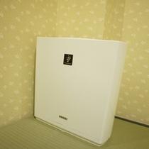 備え付け空気清浄器 ※全室ではございませんのでご予約時にご確認ください