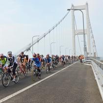 しまなみ街道/サイクリングイベント※イメージ