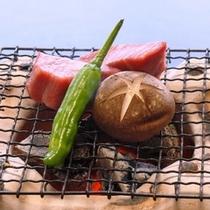 【夏の食覧会おもてなしプラン 和牛網焼】 一例
