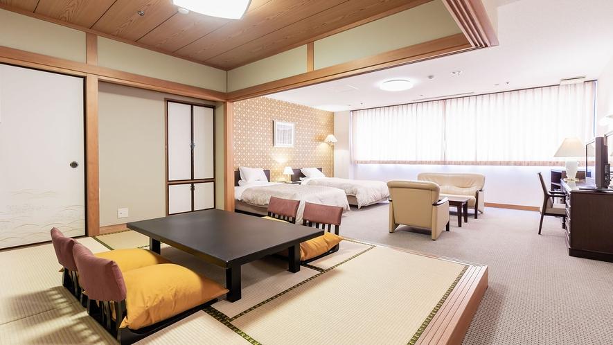 ◆【本館最上階◇特別和洋室】禁煙