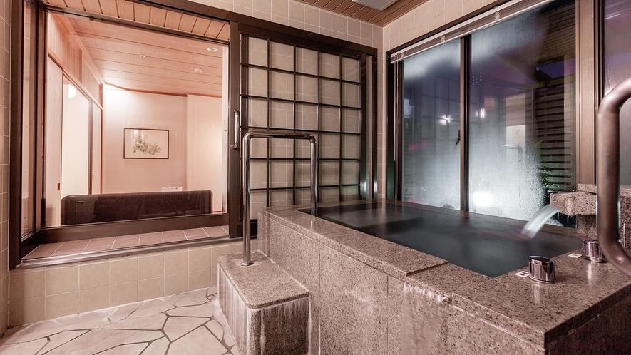◇【東館◇特別和室】「風」浴室
