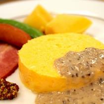 【朝食】まんまるスクランブルエッグ