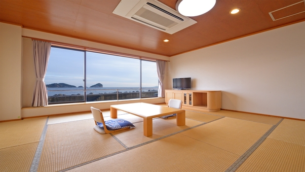 オーシャンビュー和室10畳 1階【トイレ・洗面所付】
