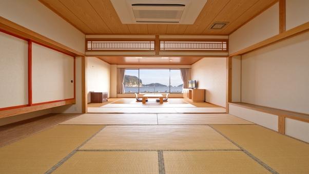 海側の和室22畳 1階【ユニットバス・トイレ・洗面所付】