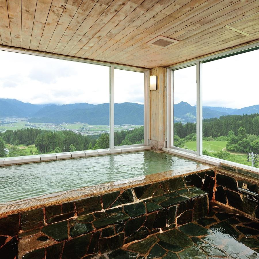お風呂 展望浴場