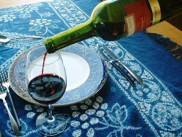 アルゼンチン赤ワインで乾杯