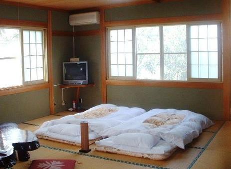 緑景色がきれい広い和室15畳