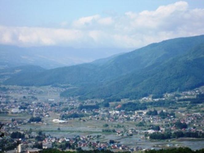のどかな木島平村