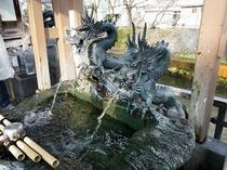万病に効くといわれる石倉町の延命地蔵の水