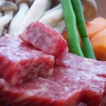 【夕食一例】和牛ステーキ