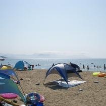 *【周辺情報】浜詰海水浴場(当館から徒歩1分)