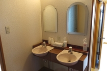 共有洗面所の一例