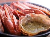 冬「焼き蟹」