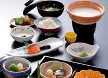 和朝食(湯葉豆腐)