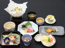 会席料理(4)
