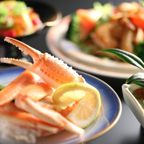 お料理は品数豊富な会席料理です。旬のお味をお楽しみください。