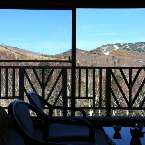特別展望和洋室は最上階の4Fより、景色をご覧いただけます。