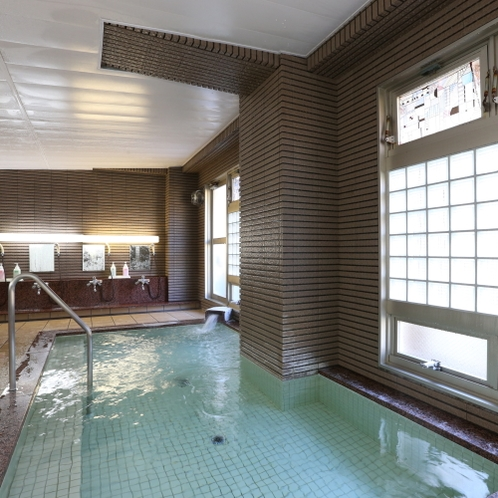スキーの後は大浴場でリラックス♪