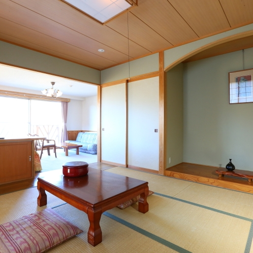 限定1室の特別展望和洋室。ご滞在をより快適に。