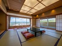 【北アルプスの絶景◇特別室】露天風呂付和室12.5畳+眺望の良い広縁