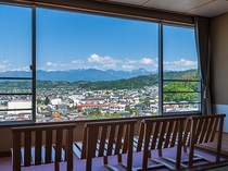 【北アルプスの絶景◇広々和室】和室12.5畳+眺望の良い広縁