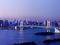 【眺望イメージ】レインボーブリッジ 夕景