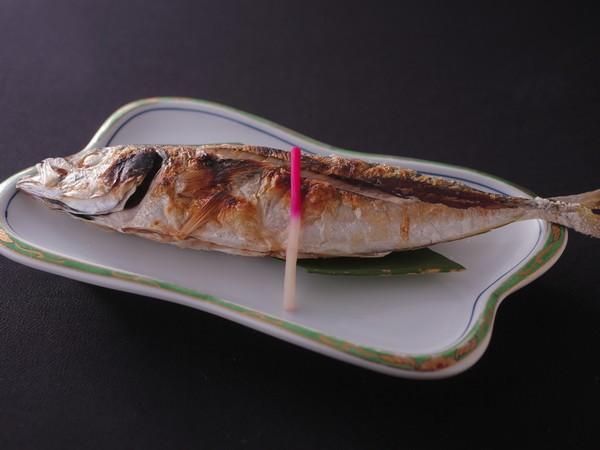 旬魚を焼き魚で