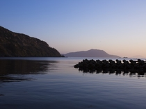 常神半島の夕景