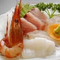 海鮮刺身盛合せ