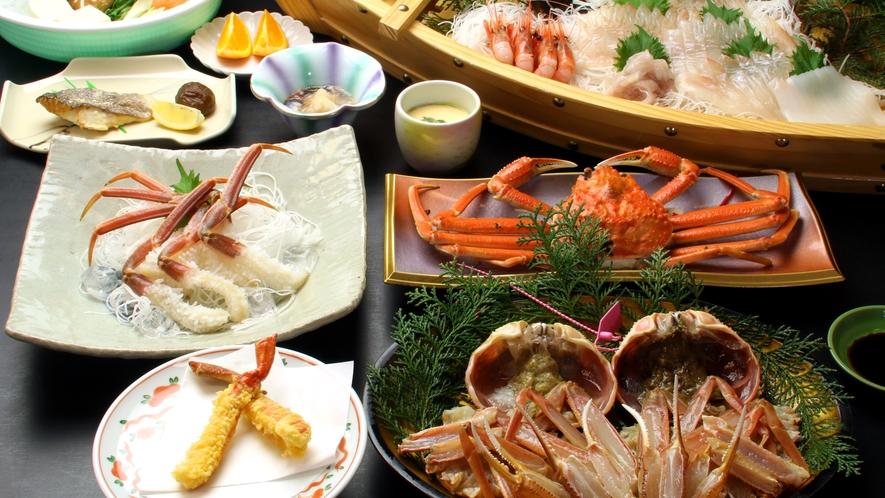 舟盛り&活蟹フルコース