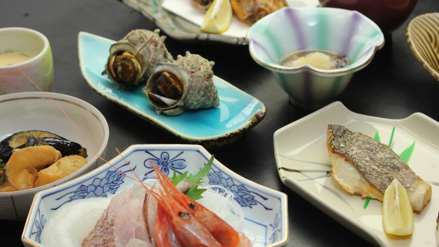 その日獲れた新鮮な鮮魚をご用意