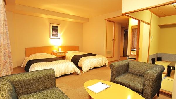 富貴亭和洋室 2ベッド+和室6畳