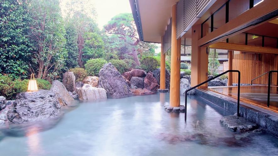夢殿一の湯 露天風呂
