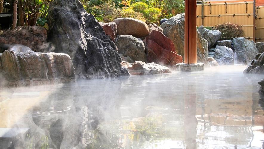 夢殿 一の湯 露天風呂
