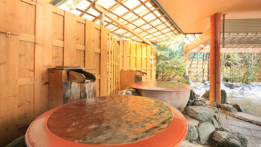 夢殿 一の湯 壺風呂