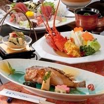 赤魚と伊勢海老料理イメージ