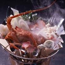 単品料理「伊勢海老鍋」