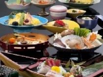 海鮮鍋付会席料理