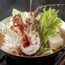 伊勢海老鍋(味噌仕立て)