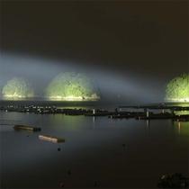 三つ島ライトアップ