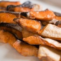 ◆朝食メニュー 鮭