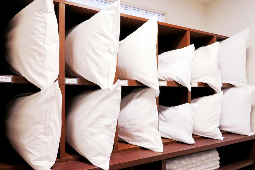 選べる枕6種類「ピローセレクト」