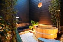 露天風呂桧風呂